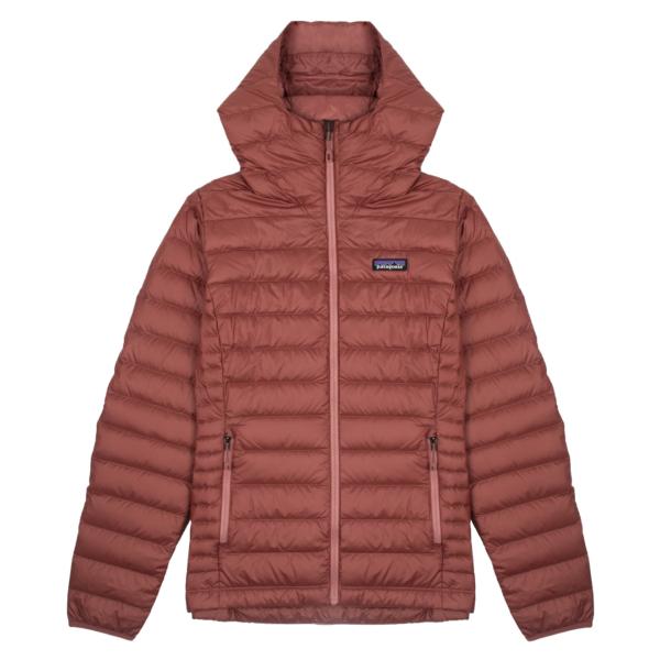 Patagonia Womens Down Sweater Hoody Jacket Rosehip