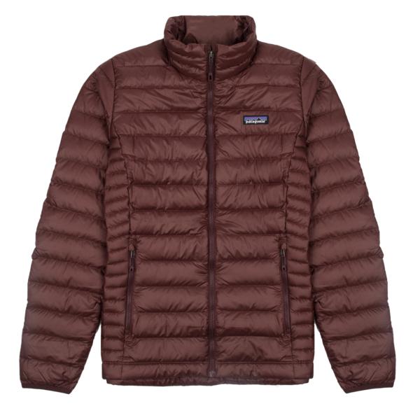 Patagonia Womens Down Sweater Jacket Dark Ruby