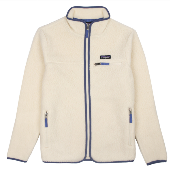 Patagonia Womens Retro Pile Fleece Jacket Natural