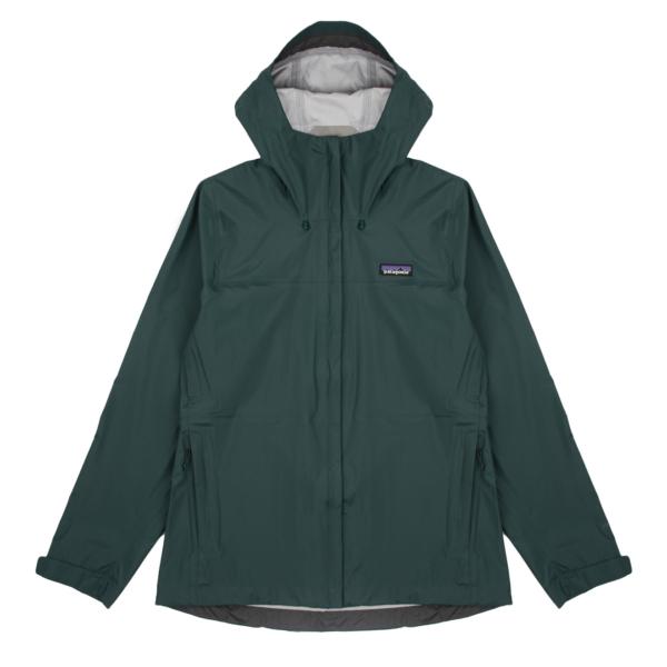 Patagonia Womens Torrentshell 3L Jacket Dark Borealis Green