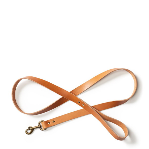 Filson Leather Dog Leash Natural