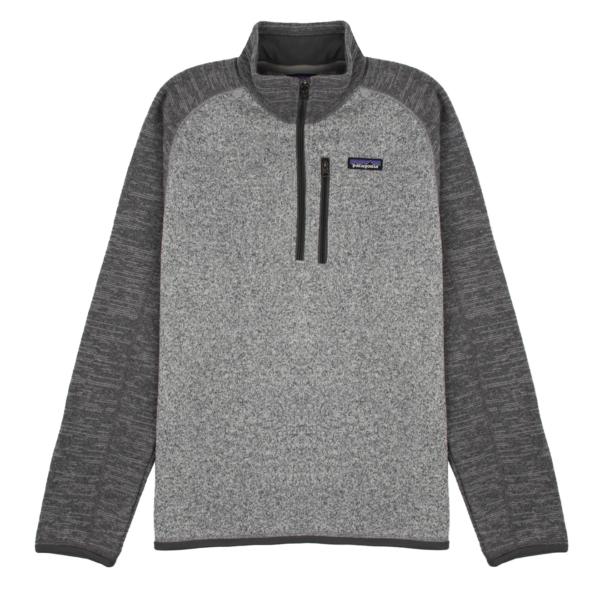 Patagonia Better Sweater 1/4 Zip Fleece Nickel / Forge Grey