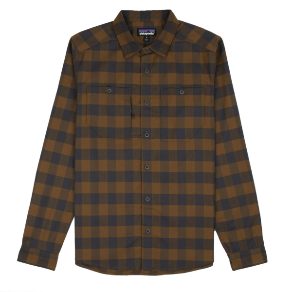 Patagonia Canyonite Flannel Shirt Bend / Mulch Brown