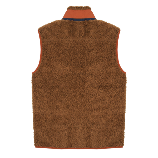 Patagonia Classic Retro-X Fleece Vest Bear Brown