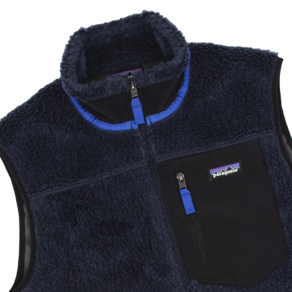 Patagonia Classic Retro-X Fleece Vest New Navy