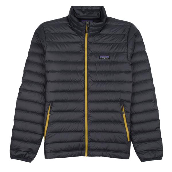 Patagonia Down Sweater Jacket Smolder Blue / Textile Green