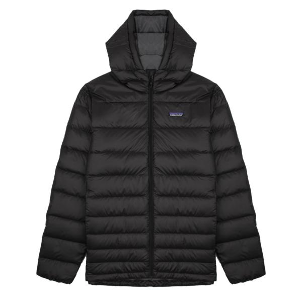 Patagonia Hi-Loft Down Hoody Jacket Black