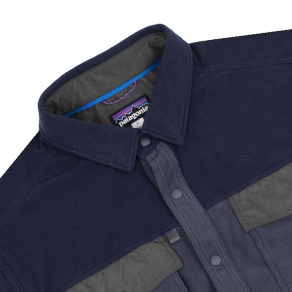 Patagonia Long Sleeved Early Rise Snap Shirt Smolder Blue
