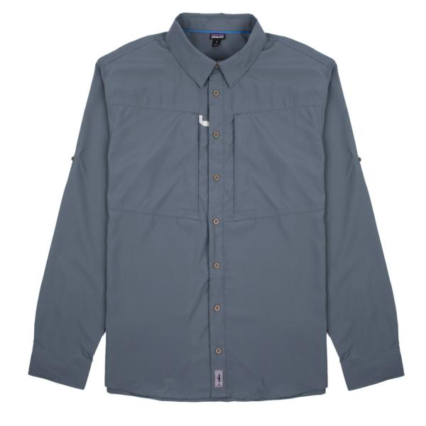 Patagonia Long Sleeved Sol Patrol Shirt Plume Grey