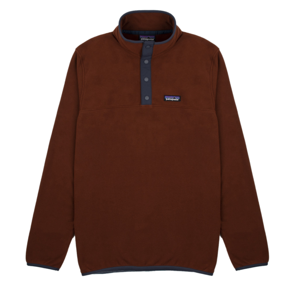 Patagonia Micro D Snap-T Fleece Pullover Fox Red