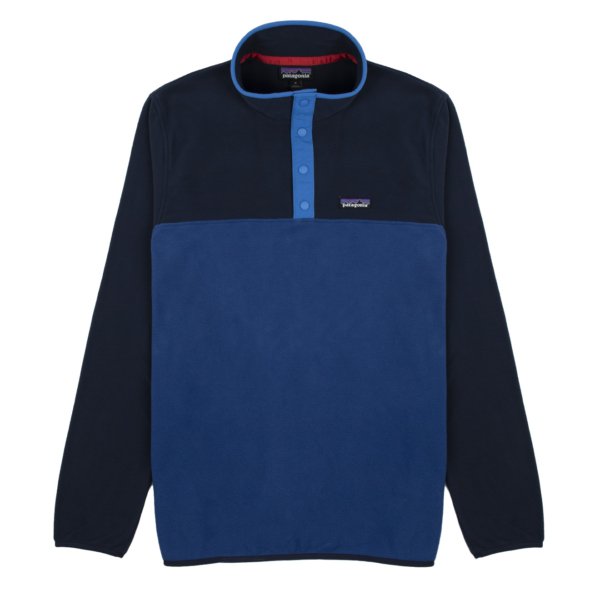 Patagonia Micro D Snap-T Fleece Pullover Superior Blue