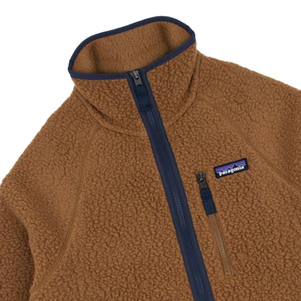 Patagonia Retro Pile Fleece Jacket Bear Brown