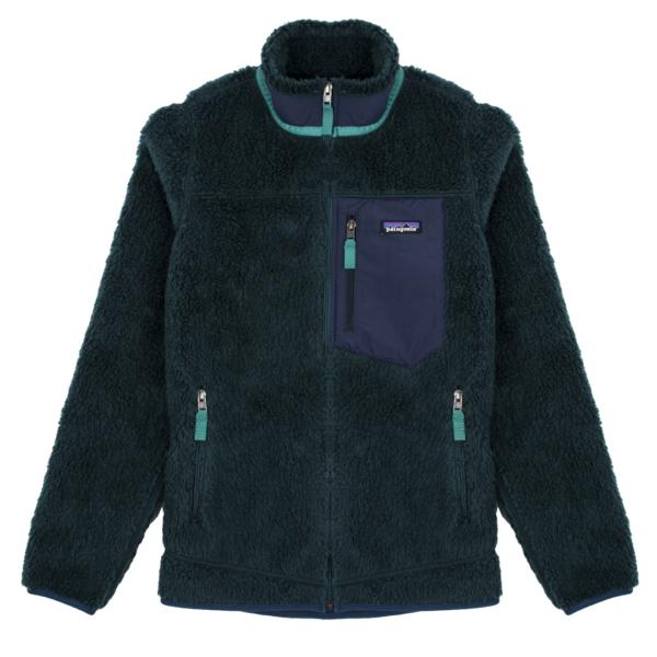 Patagonia Womens Classic Retro-X Jacket Dark Borealis Green