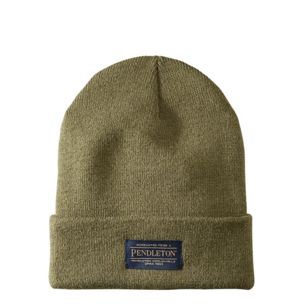 Pendleton Wool Knit Beanie Army Green