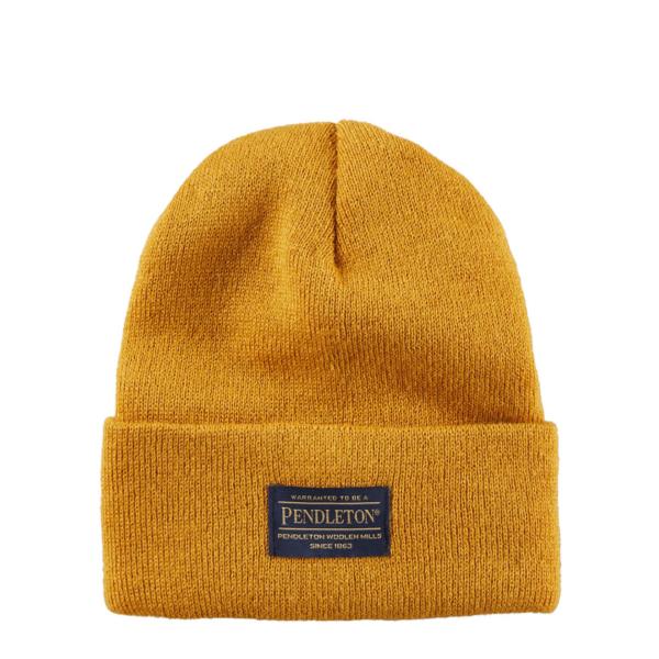 Pendleton Wool Knit Beanie Gold