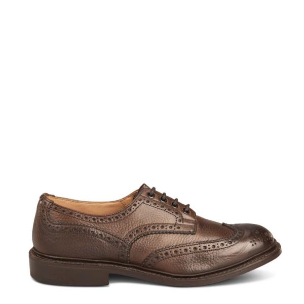 Trickers Bourton Country Shoe Dark Brown