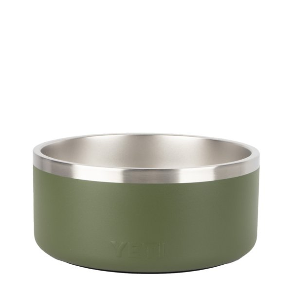 YETI Boomer 8 Dog Bowl Highlands Olive