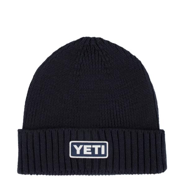YETI Logo Beanie Hat Navy