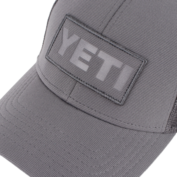 YETI Patch Trucker Cap Grey