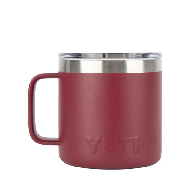YETI Rambler 14oz Mug MS Harvest Red