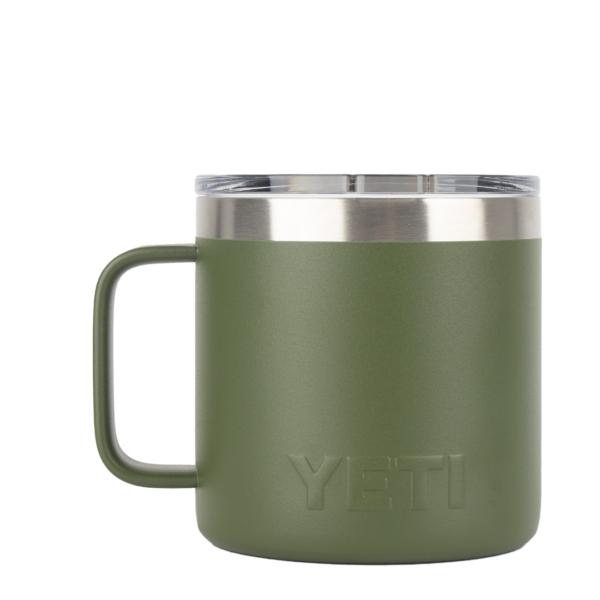 YETI Rambler 14oz Mug MS Highlands Olive