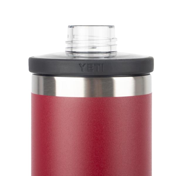 YETI Rambler 18oz Bottle Chug Harvest Red