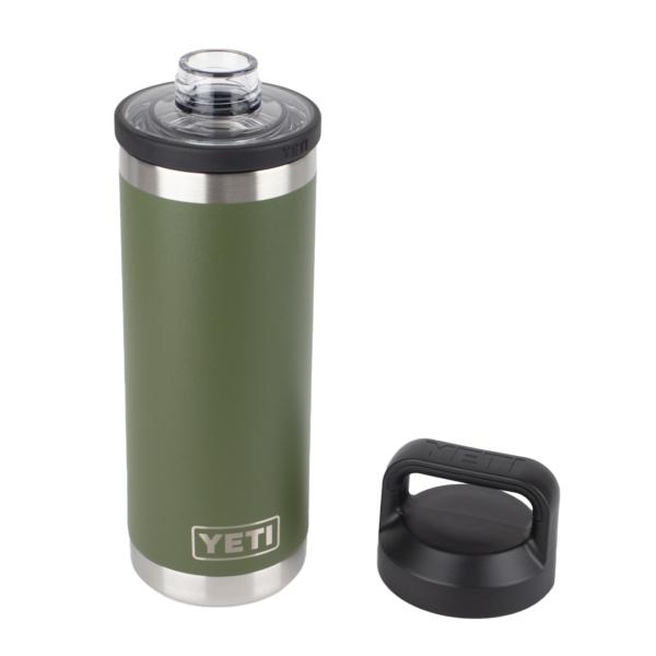 YETI Rambler 18oz Bottle Chug Highlands Olive