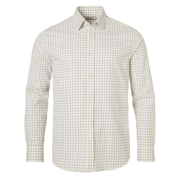 Chevalier Dundee Shirt Rust Checked
