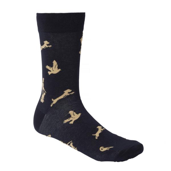 Chevalier Pomeroy Sock Hunter Blue