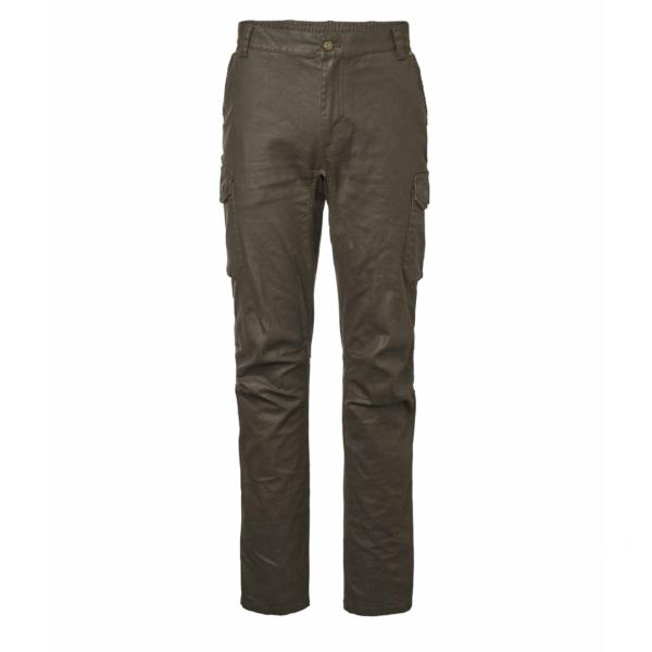 Chevalier Vintage Pants Leather Brown