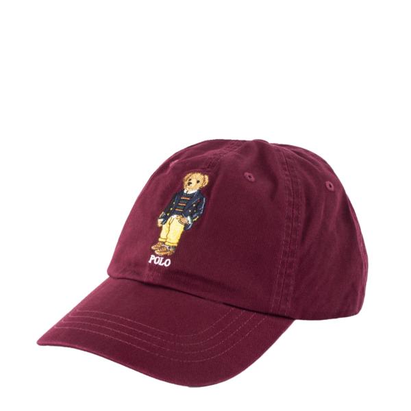 Polo Ralph Lauren Bear Logo Classic Sports Cap Classic Wine