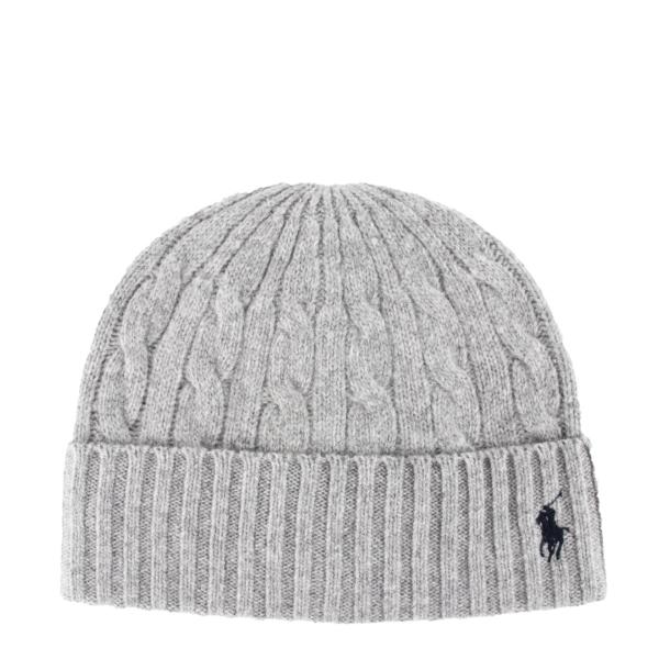 Polo Ralph Lauren Classic Beanie Hat Andover Heather