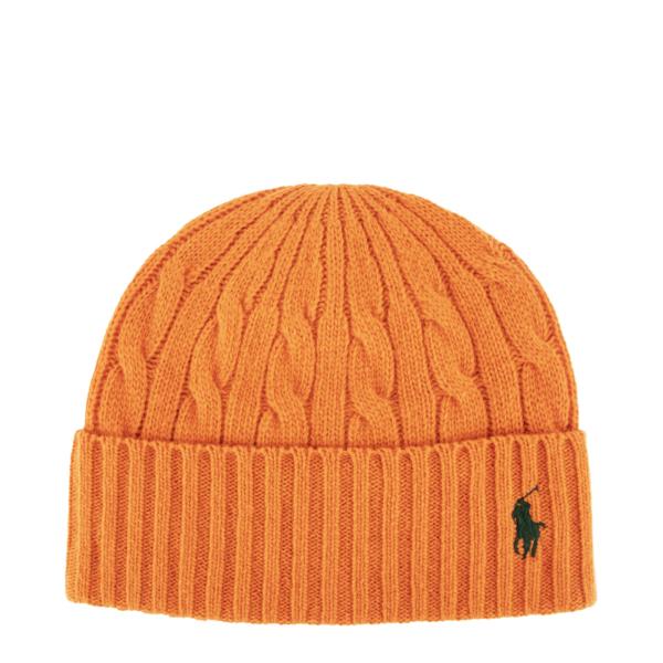 Polo Ralph Lauren Classic Beanie Hat Kona Orange