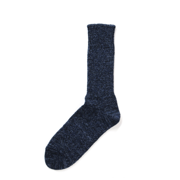 RoToTo Denim Tone Crew Socks Dark Denim