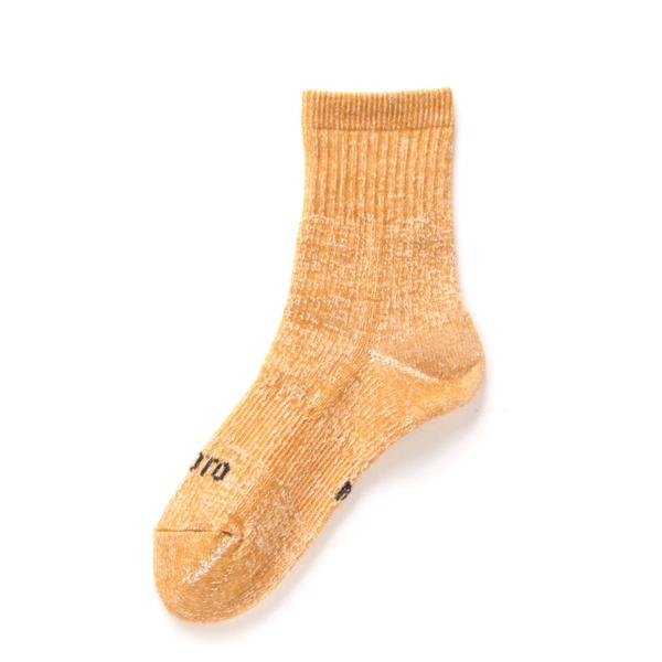 RoToTo Double Face Mid Socks Yellow